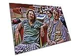 EAPoster Donny Walter Dude Big Lebowski Wandkunst, A1, 594
