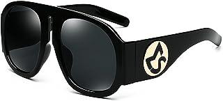 サングラス 女性 オーバーサイズ リムメド 紫外線保護 個性 運転 旅行, ファッションサングラス