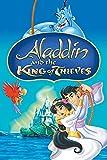 znwrr Rompecabezas 1000 Piezas para Adultos |Rompecabezas de Aladdin y el Rey de los Ladrones |Rompecabezas del desafío del Cerebro del Tiempo en Familia |Los 38x26cm