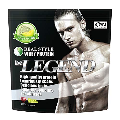 [Amazon限定ブランド] Real Nutrition ビーレジェンド ホエイプロテイン めろめろメロン風味【1kg】(WPC)