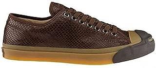 x John Varvatos Jack Purcell Vintage Brown Leather Snake Embossed Ox 1W226
