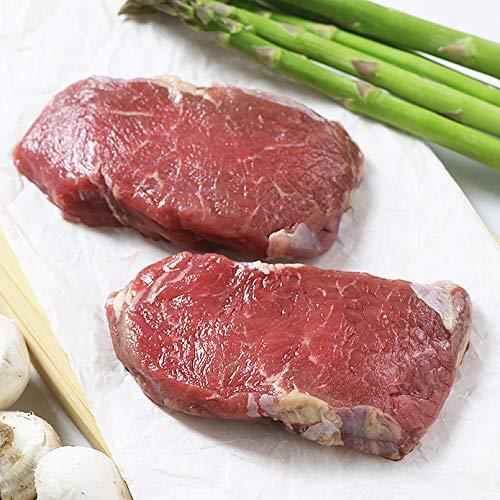 ミートガイ ステーキ肉 ヴィールカットレット 厚切り仔牛ステーキ 約125g×2枚入り(仔牛のロース肉) Veal Cutlet (25g×2)