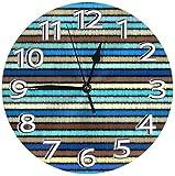 LTBWFDC Los Relojes de Escritorio en Estilo Bohemio Son Decorativos para la Creatividad en el Gimnasio.