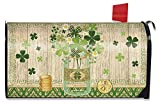 Briarwood Lane Lucky Clovers St. Patrick's Day Large Mailbox Cover Primitive Oversized