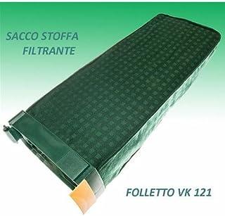UNITA FILTRO ADATTABILE OTTIMA QUALITA CON FILTRO IGIENICO X FOLLETTO VK130-131/…