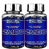ZMB6 | Estimulante de testosterona y ayuda para dormir - Zinc Magnesio VitB6 | Mineral Anabólico ZMA (120 Cápsulas)