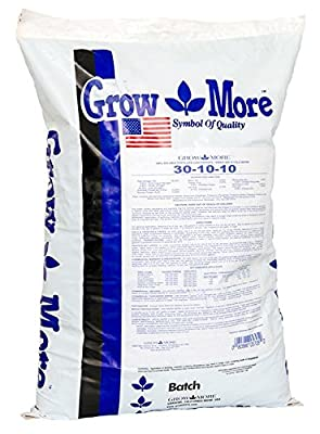 Grow More Water Soluble Fertilizer 30-10-10