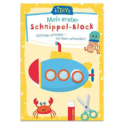 Mein erster Schnippelblock: Schnipp, Schnapp - Ich kann schneiden! (kiDIYs)