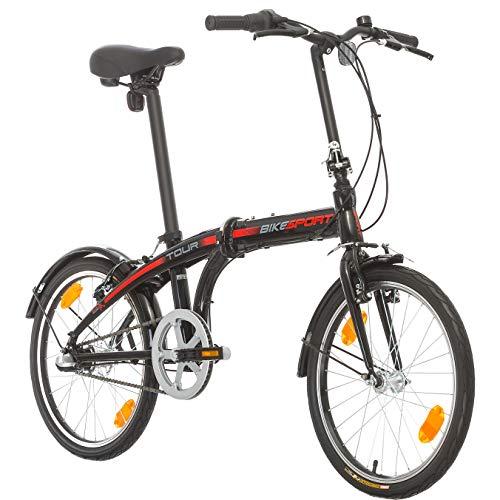 Bikesport Tour 24 Pollici Uomo Pieghevole City Bike Unisex Shimano Nexus 3 Velocita
