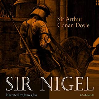 Sir Nigel audiobook cover art