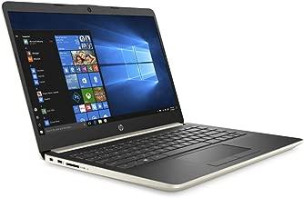 HP Pavilion 2019 Newest 14 Inch Premium Laptop - AMD Ryzen 3 3200U 2.6GHz up to 3.5GHz, AMD Radeon Vega 3, 8GB DDR4 RAM, 256GB SSD, HDMI, WiFi, Bluetooth, Windows 10 Home S, Gold