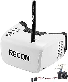 Fat Shark Recon V2 FPV DRV Video Goggles and Ultra Micro Camera(Builtin 5G8 25mW Video Transmitter) RTF Combo