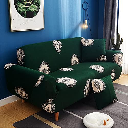 ZIJIAGE Schonbezug-Sofa, All-Inclusive-Stretch-Sofabezug für Living Room Pet Dog Furniture Protector,A,4 Seater