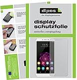 dipos I 2X Schutzfolie matt kompatibel mit Oukitel U15S Folie Bildschirmschutzfolie