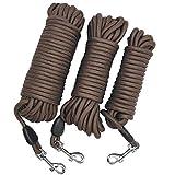 10m Lunga Guinzaglio da addestramento per cani - Nylon per impieghi pesanti Richiama la linea di inseguimento per animali domestici - per piccoli esercizi esterni di gioco in campeggio o in giardino