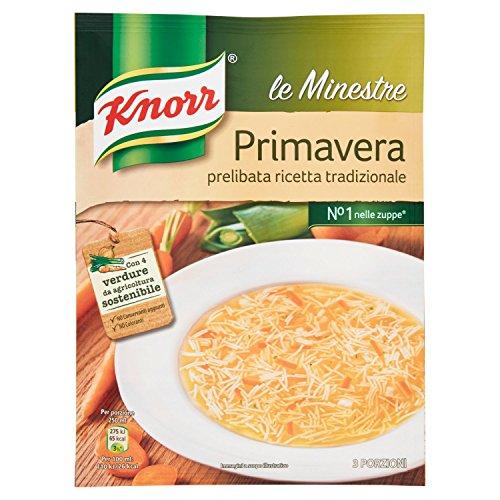 Knorr - Minestra Primavera, Prelibata Ricetta Tradizionale - 56 g