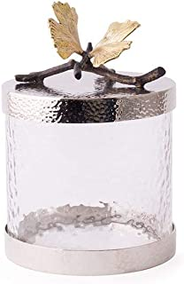 michael aram gold orchid canister