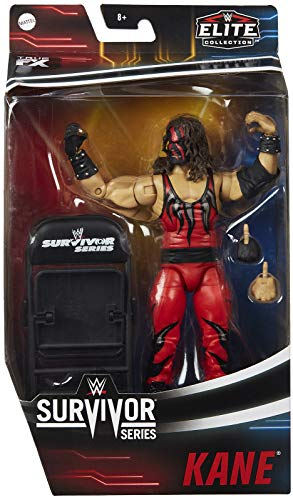 Ringside Kane - WWE Elite Survivor Series 2020 Mattel Toy Wrestling Actionfigur