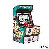 ポータブルゲーム機、ミニアーケードハンドヘルドゲームコンソール、 TFTスクリーン魅力的な効果音、多機能クラシックレトロゲーム機、2.5インチTFTスクリーン、156の内蔵ゲーム、5 色