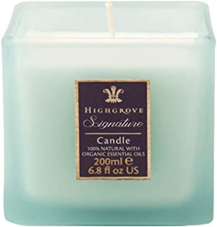Highgrove Signature All Natural Candle, Hand Poured Scented Soy Candle, 6.7 Ounces
