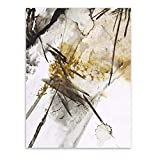 Ywsen Modern Abstract Chinese Ink Splash Canvas Art Poster Print Wall Picture Painting Vintage Retro Living Room Decor(no Frame) 40x60cm
