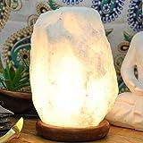 Magic salt blanco Lámpara de sal himalaya lámpara natural cristal rock sal lámpara...
