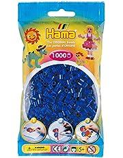 Hama 207-08 - strijkkralen in zak, ca. 1000 stuks, blauw