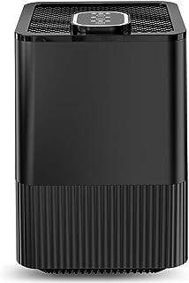 comprar comparacion Purificador de Aire con Filtro HEPA Real y ionizador,Limpiador de Aire Compacto con filtración de 4 Capas y función de Tem...