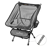 Best Camping Chairs - Rock Cloud Portable Camping Chair Height Adjustable Ultralight Review