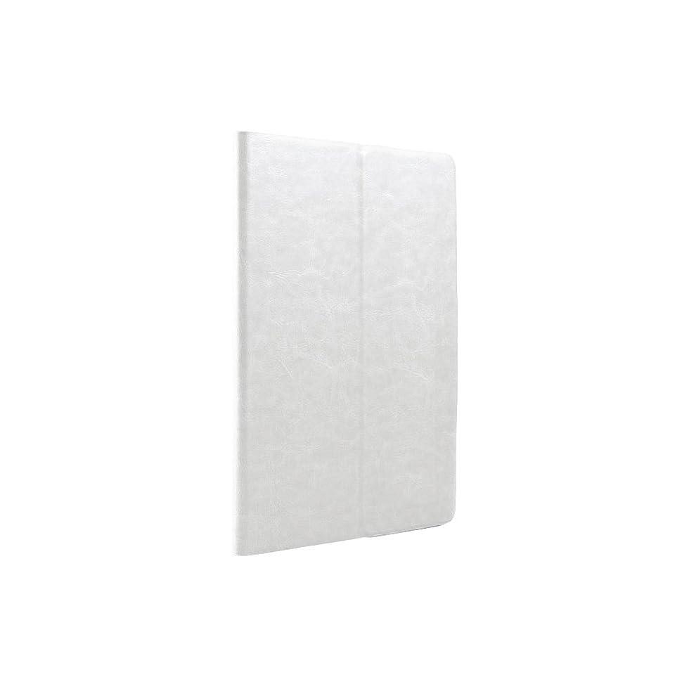 集めるパスタ生息地iBUFFALO iPad mini 3 (2014年) レザーケース マルチアングル 液晶保護フィルム付 ホワイト BSIPD714LMWH 【6タイプのアングルで立てられる上質な手触り】