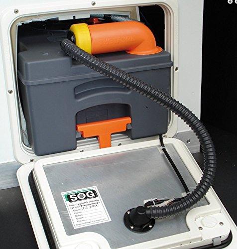 SOG 1 Typ F WC-Entlüftung für Thetford C250/C260 weiss