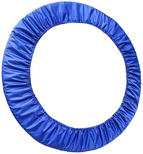 Cubierta de Proteccion Borde Cama Trampolines Colchón de trampolín de tela de Oxford cifrado de 3 capas, cubierta de resorte de reemplazo interior duradero, cubierta de resorte de trampolín resistente
