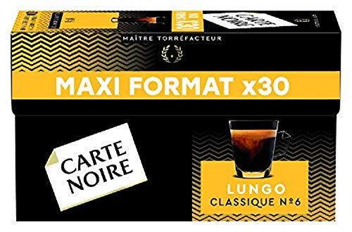 professionnel comparateur Capsule de café Cartenoir Espresso, Lungo Classic, Maxi Size – Boîte de 30 pièces 168g choix