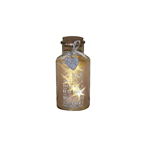 Special Nan Light Up Jar Messages Of Love Gift Range Birthday Christmas Gifts