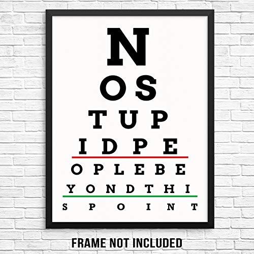 funny eye chart - 7