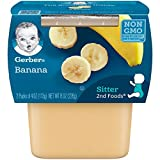 GROWING NUTRITION: Our 2nd Foods baby food recipes help expose babies to a variety of tastes & ingredients, which is important to help them accept new flavors. It's the perfect food for growing bodies! BANANA PUREE TUB: Made with natural fruit, this ...