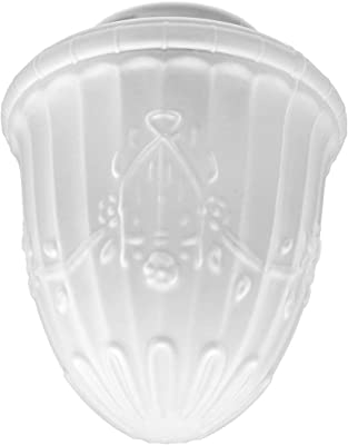 Upgradelights 8 Inch Glass Floor Lamp Reflector Shade