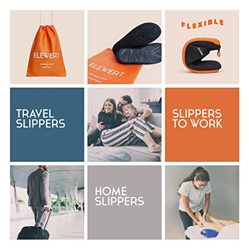 ELEWERT® - NATURAL-W1BLACK- Zapatillas para casa, Confort, Unisex, Interior, Exterior, Suela de Caucho, Plantilla extraíble reciclada, Designed IN Europe, Made IN Spain. Talla 45