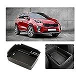YEE PIN Auto Console Boîte de rangement pour Kia Sportage QL 4 Accessoires de...