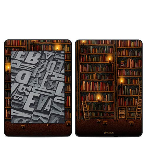 Library Amazon Kindle Paperwhite 2018 Full Vinyl Decal - No Goo Wrap, Easy to Apply Durable Pro