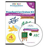 The Ultimate Preschool Curriculum Kit on CD - Printable Workbooks, Lesson Plans and Learning Activities for Preschoolers, Pre K Kids and Toddlers, Ages 3 - 5 - [DVD-ROM - Printing Required]