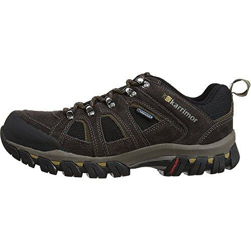 Karrimor Bodmin IV Weathertite, Men's Low Rise Hiking Shoes, Brown (Dark Brown), 9 UK (43 EU)