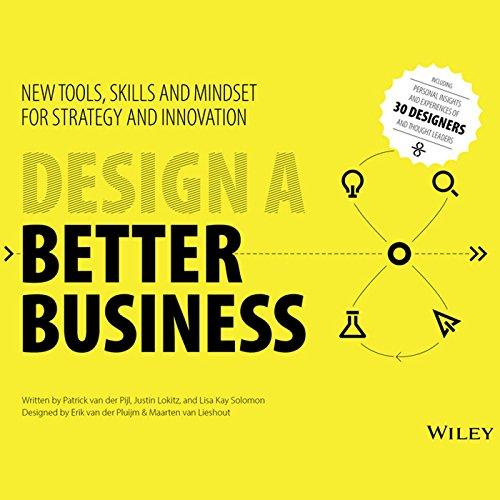 Design a Better Business audiobook cover art