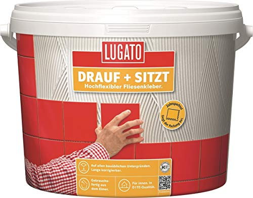 Lugato Drauf + Sitzt 1 kg - Fliesenkleber