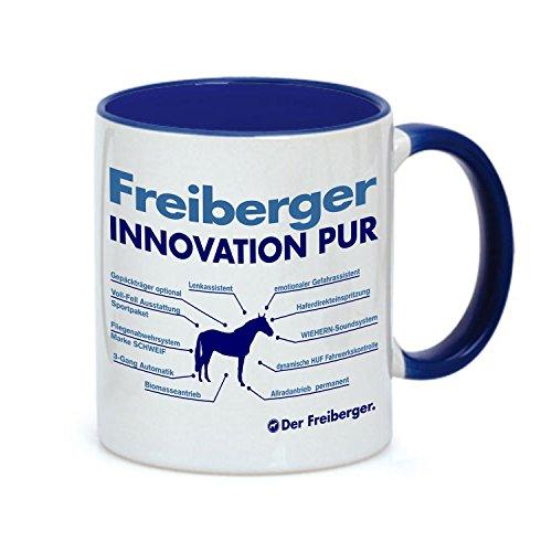 Siviwonder Tasse Innovation - FREIBERGER KALTBLUT - Pferde Pferd Teileliste Pferd Kaffeebecher