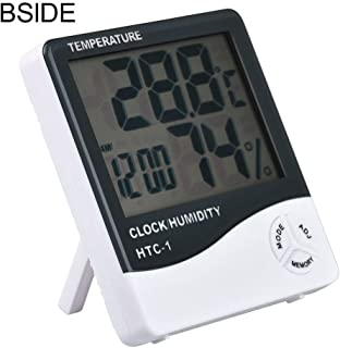 Best Design Indoor Room Lcd Electronic Temperature Humidity Meter Digital Thermometer, Big Digital Clock - Data Log, Digital Wall Clock, Red Wall Clocks, New Electric Wall Clock, Wall Clock Green