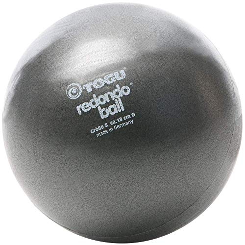 TOGU Redondo Ball 18 cm Gymnastikball Pilatesball, anthrazit