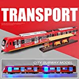 ColiCor 1:87 simulación tire hacia atrás coche mesa de arena modelo ferroviario locomotora 2 carros para niños