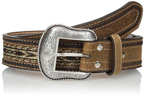 Nocona Belt Co. Men's Ribon Lace, Medium Brown, 44