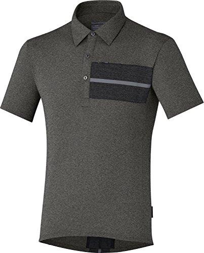 Shimano Transit T-shirt a maniche corte, da uomo, dunkelgrau (229)